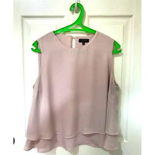 Used Zalora Millennial Pink/ Blush top