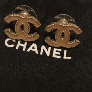 Chanel Peal Pink Earring 珍珠粉紅耳環