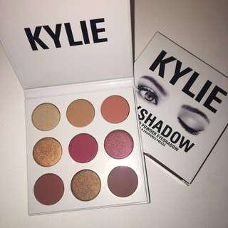 Authentic Kylie Cosmetics Burgundy Eye Palette