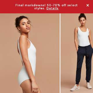 LOOKING FOR WHITE ARITZIA BODYSUIT