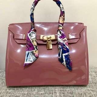 Beachkin Bag glossy (Rosewood color)