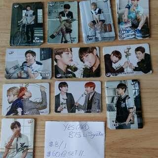 Yes Card 签名卡BTS
