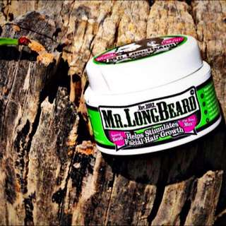 Mr. Longbeard beard growth cream
