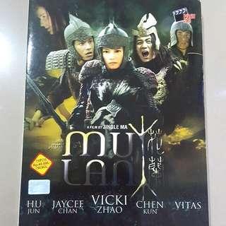 DVD MULAN ORIGINAL