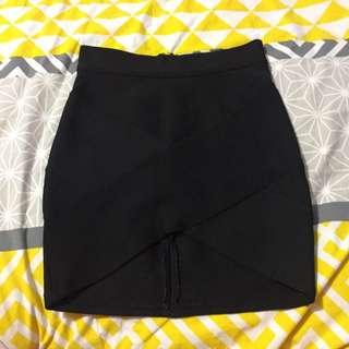 Black Skirt Size 8 (blossom)