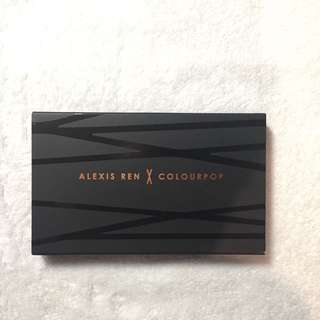 Alexis Ren X Colourpop Topaz Palette