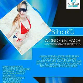 BIHAKU WONDER BLEACH 300gms