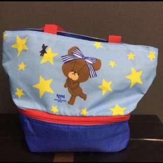 全新 bear school保溫袋
