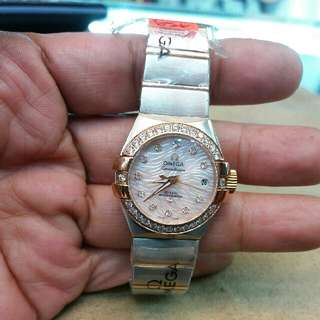Omega Watch For Lady  The New Omega Constellation