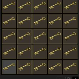 Tf2 Mann Co. Supply Crate Keys For Sale!!