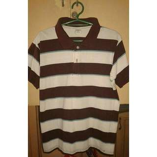 SUNDANCE STRIPED POLO SHIRT