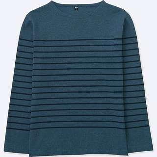 UNIQLO Striped Long Sleeve Tshirt