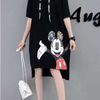 Mickey Hoodie Dress