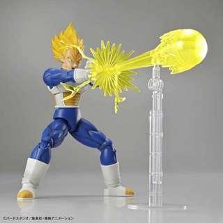 萬代正版 bandai Figure Rise Standard Super Saiyan Vegeta 超級賽亞人 達爾 Dragon Ball Z 七龍珠Z 組合模型 可動人偶