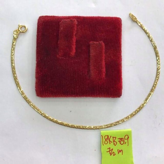 18k saudi gold bracelet onhand