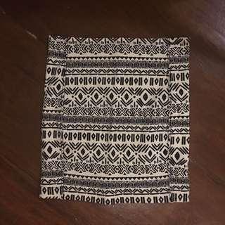 Zara Printed Bandage Skirt