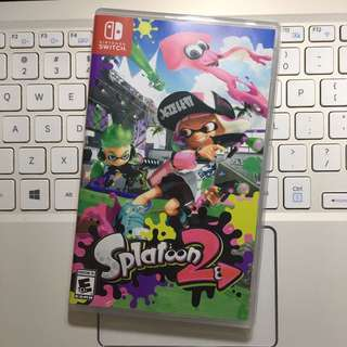 任天堂 Nintendo Switch 美版 Splatoon 2