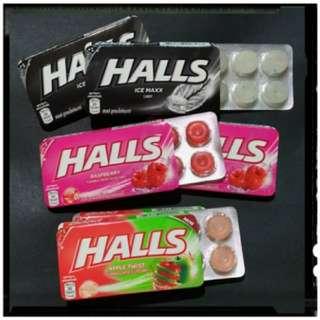 【新鮮貨】.:*✩.那瑪斯特✩ .:*˙°★* 泰國 HALLS喉糖♡爆漿♡夾心♡