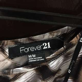 Forever21 Blouse (semi-short Sleeve)
