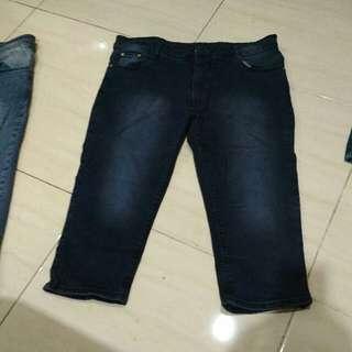 #preloved jeans ¾ Size 32