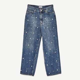 Zara peal jeans