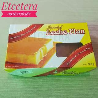 SPECIAL LECHE FLAN and SPECIAL UBE