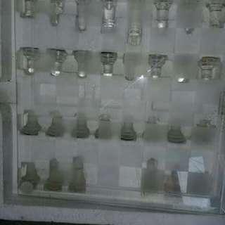 Glass Chess Elegant