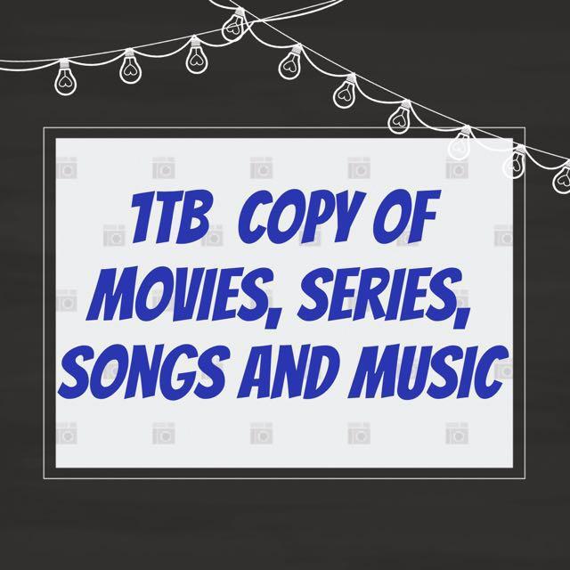 1TB Movie Copy