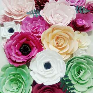 Paper Flowers For Decorations