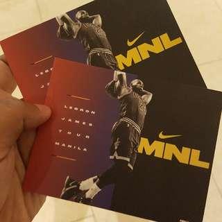 LeBron Tickets (3pcs)
