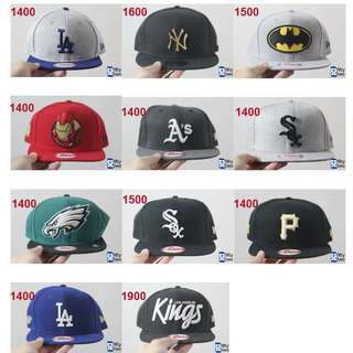 Brand New Snapbacks (New Era)