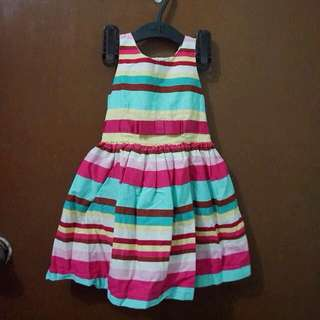 Rainbow Stripes Dress