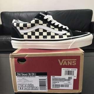 (INSTOCK) Vans Old Skool Checkerboard Anaheim Factory