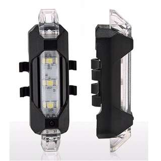 USB Rechargeable Bicycle LED Lighr