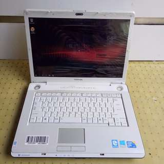 Laptop Toshiba Dynabook AX55c / TX65E Intel Core 2Duo Led 15.6inci