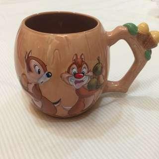 迪士尼 奇奇與蒂蒂造型馬克杯