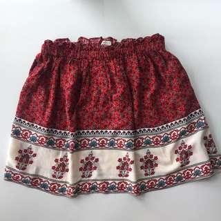 F21 Boho Skirt