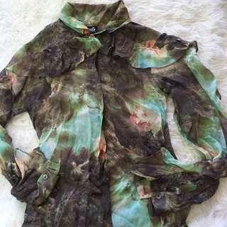D&G dolce & gabanna silk blouse