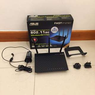 ASUS Router RT-AC66U 802.11ac Dualband Wireless-AC1750