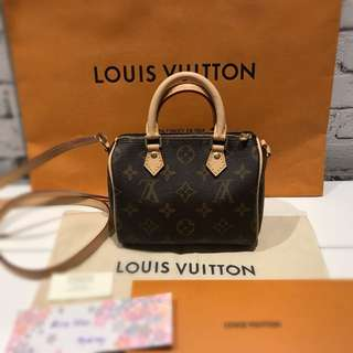 Brand New Louis Vuitton Nano Speedy Sold Out Everywhere