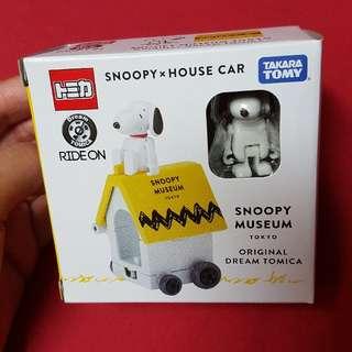 TOMICA TOMY Snoopy史努比博物館限定一周年小汽車
