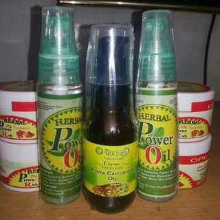 Herbal Power Oil Massage