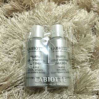 Labiotte Truffle Visible Whitening Softener & Emulsion