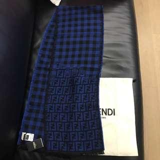 Fendi wool scarf 25x150cm