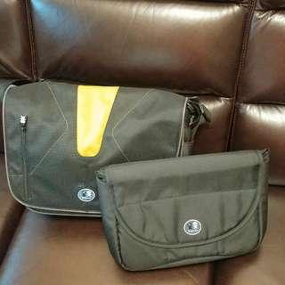 全新 Crampler 相機袋 炭灰色 Bagman 外遊斜孭袋