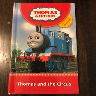 Thomas & Friends Book-Thomas and the Circus