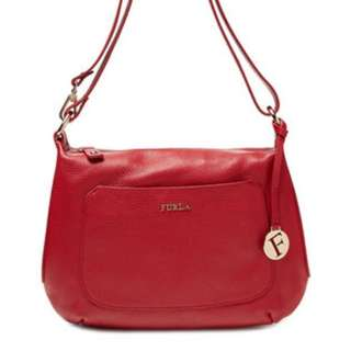Authentic Furla classic cross body