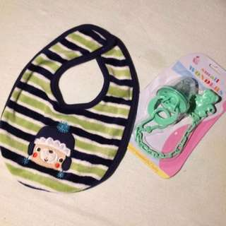 Bib And Pacifier (repriced)