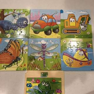 Jigsaw puzzle (12 pieces)