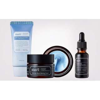 Klairs Blue Bundle Set Bnib